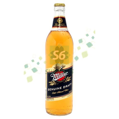 Foto CERVEZA MILLER GENUINE DRAFT BOTELLA 709 ML de