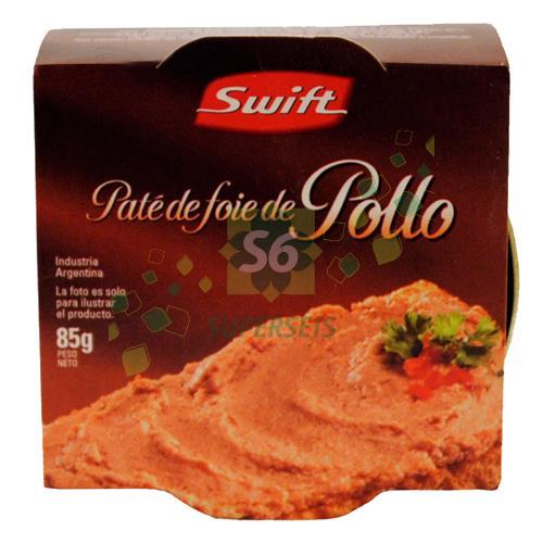 Foto PATE SWIFT LATA 85 GR POLLO de