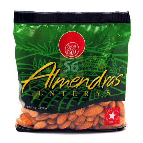 ALMENDRAS CERE RICO BOLSA 200 GR
