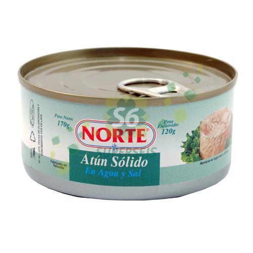Foto ATUN NORTE EN SAL Y AGUA LATA 170 GR de