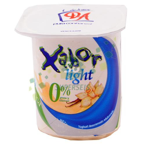 Foto YOGURT XABOR LIGHT VAINILLA 140 GR de