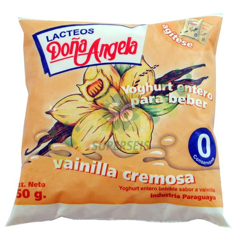 Foto YOGURTH BEBIBLE VAINILLA 500 GR DOÑA ANGELA de