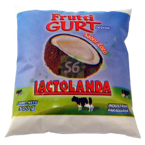 Foto FRUTTIGURT ENTERO 500 ML COCO de