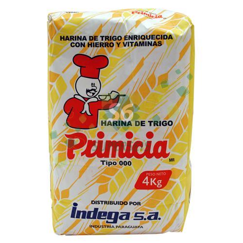 Foto HARINA PRIMICIA DE TRIGO TIPO 000 4KG PRIMICIA X 3 de