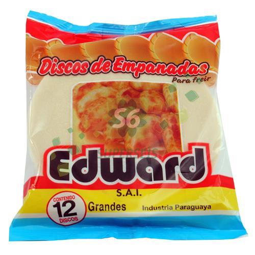 Foto DISCO PARA EMPANADA EDWARD 12 UNIDADES GRANDE de