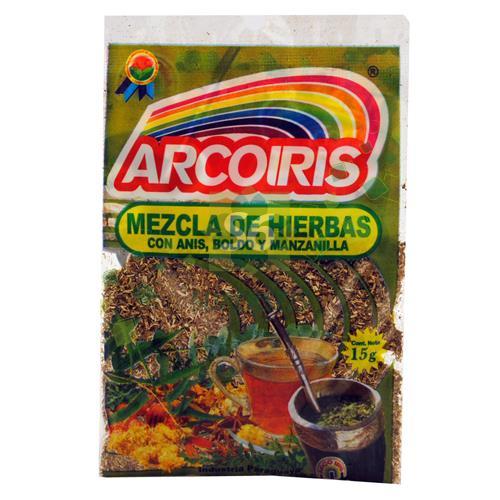 Foto MEZCLA DE HIERBAS ARCO IRIS X 15 GR  de