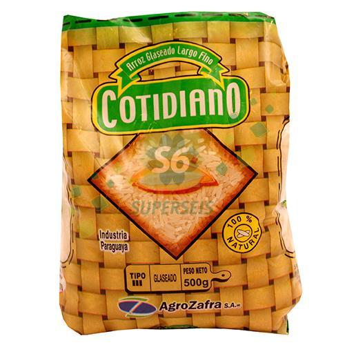 Foto ARROZ COTIDIANO TIPO 3 PAQUETES 500 GR de