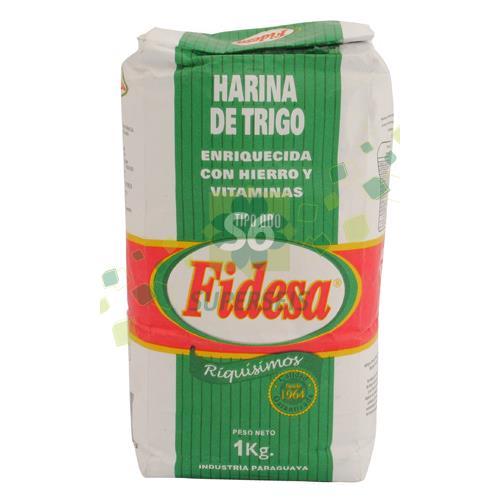 Foto HARINA FIDESA TIPO 000 PAQUETE 1KG de