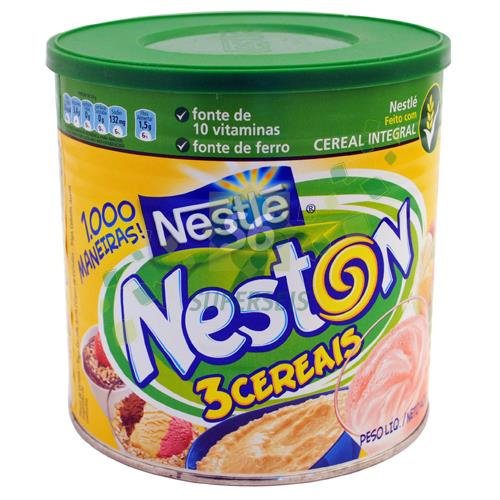 Foto NESTON 3 CEREALES NESTLE LATA 4 de