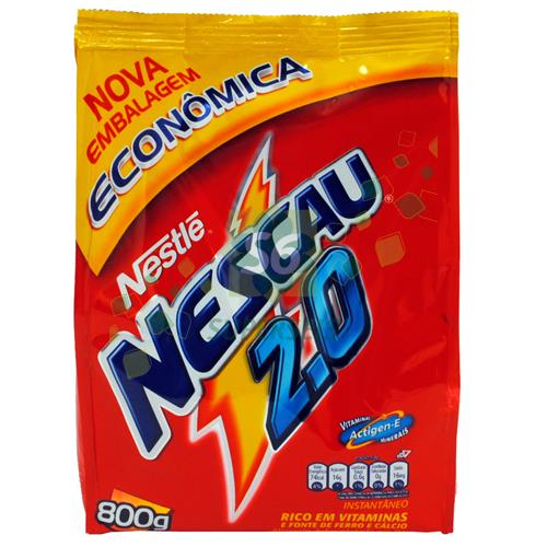 Foto CHOCOLATE POLVO NESCAU 2.0 800 GR de