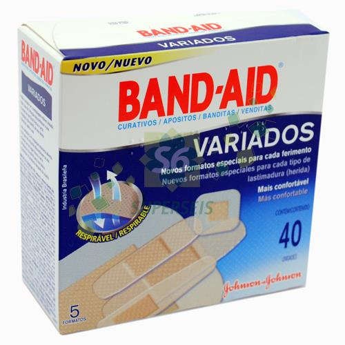 Foto BAND AID VARIADOS X 24 UNIDADES X 36 de