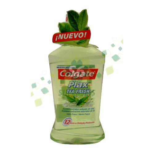 Foto ENJUAGUE BUCAL PLAX TEA FRESH 500ML COLGATE FRA de