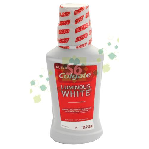 Foto ENJUAGUE BUCAL PLAX LUMINOUS 250ML COLGATE PLAS de