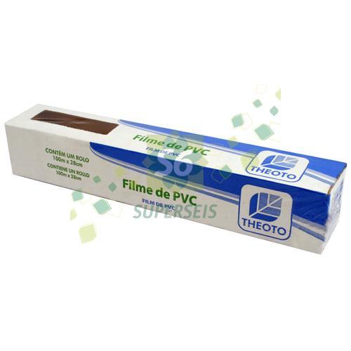 Foto FILME PVC PLASTICO X100 METROS de
