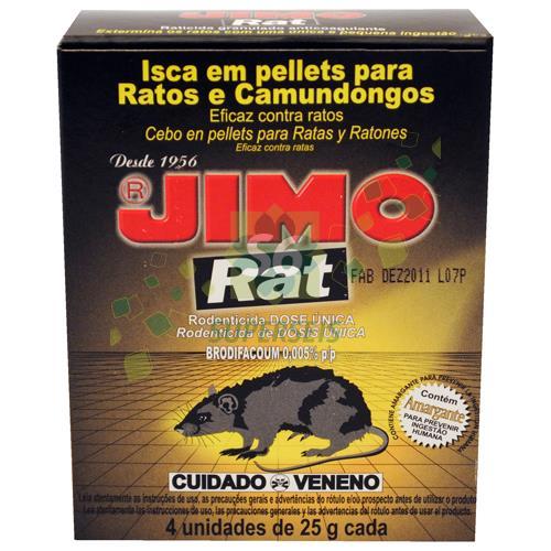 Foto CEBO JIMO RATICIDA PASTILLAS 100 GR de