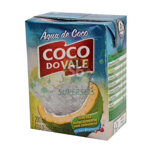 Foto AGUA DE COCO 200ML COCO DO VALE TETRA de