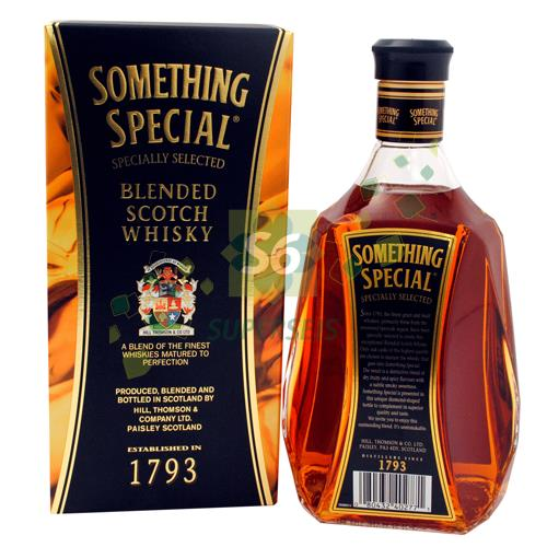 Foto WHISKY SOMETHING SPECIAL CON CAJA 1 LITRO SOMETHING de