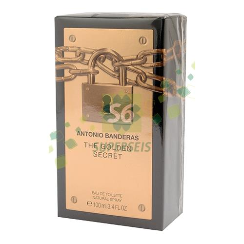 Foto PERFUME ANTONIO BANDERAS THE GOLDEN SECRET 100ML de