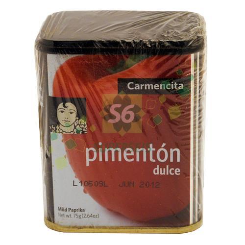 Foto PIMENTON DULCE CARMENCITA LATA 75 GR de
