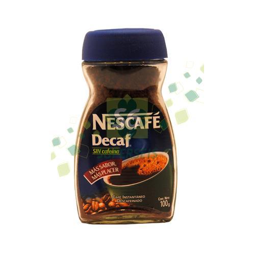 Foto CAFE DESCAFEINADO 100 GR NESCAFE FRASCO de