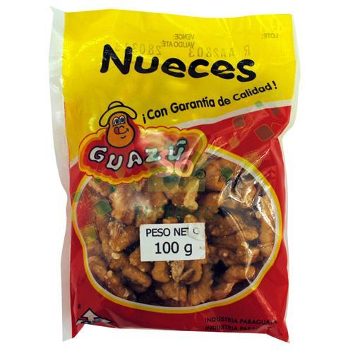 Foto NUECES GUAZU PAQUETE 100 GR PELADA de