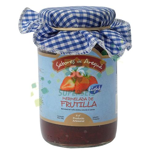 Foto MERMELADA F F LIGHT FRUTILLA FRASCO 350 GR de