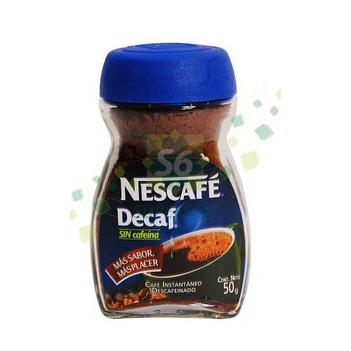 Foto CAFE DESCAFEINADO 50GR NESCAFE FRAS de