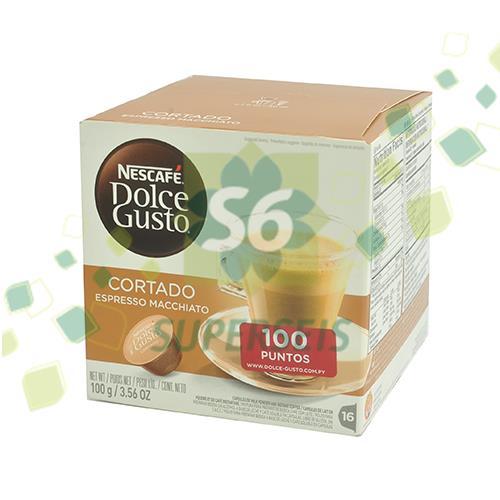 Foto CAFE DOLCE GUSTO CORTADO 100 GR NESCAFE de