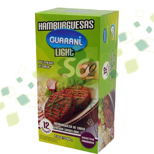 Foto HAMBURGUESA LIGHT GUARANI 12 UNIDADES de
