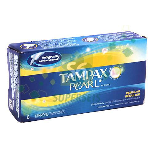Foto TAMPONES PLASTIC REGULAR 8 UNIDADES TAMPAX HERBAL ESSENCES  de