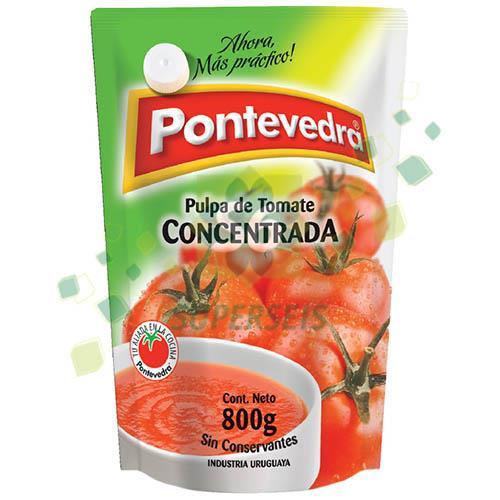 Foto PULPA DE TOMATE CONCENTRADA 800GR PONTAVEDRA DOY PACK de