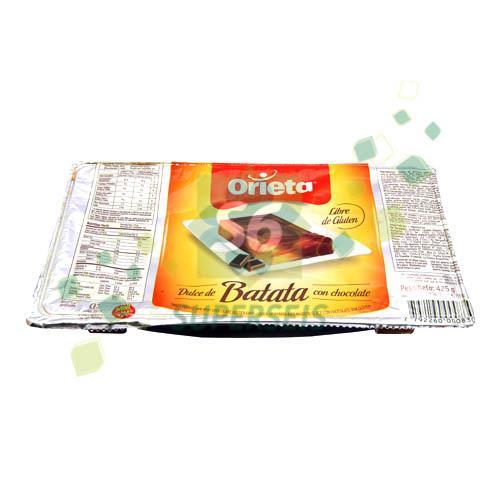 Foto DULCE DE BATATA CON CHOCOLATE 425GR ORIETA POT de