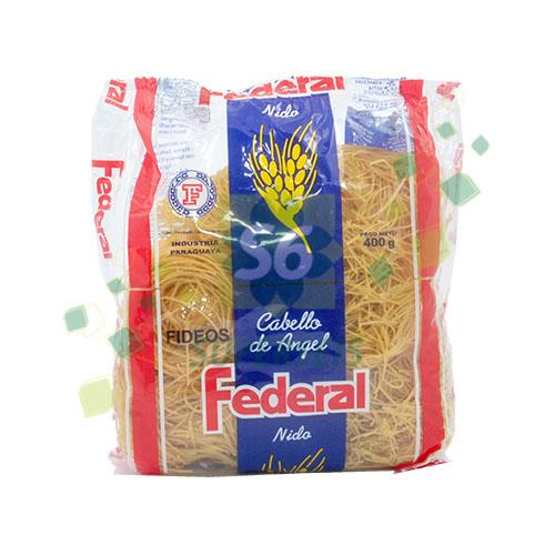Foto FIDEO NIDO CABELLO ANGEL 400GR FEDERAL PAQUETE  de