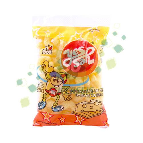Foto SNACK YES YES QUESO 25 GR de