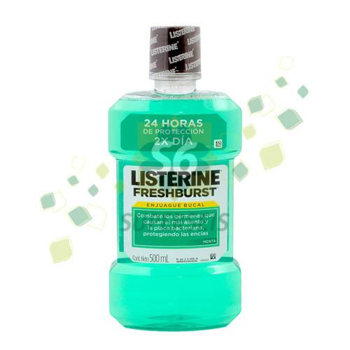 Foto ENJUAGUE BUCAL LISTERINE FRESH BURST 500ML de