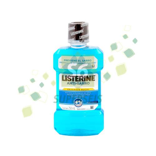 Foto ENJUAGUE BUCAL LISTERINE ANTI SARRO 250ML de