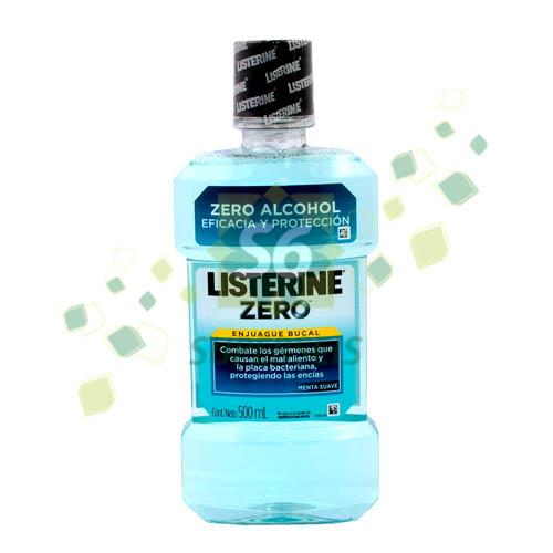 Foto ENJUAGUE BUCAL LISTERINE ZERO 500ML de