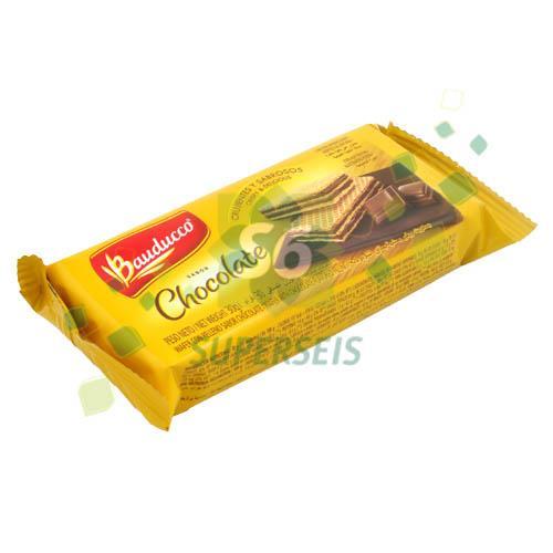 Foto MINI WAFFER CHOCOLATE 30 GR BAUDUCCO PAQUETE  de