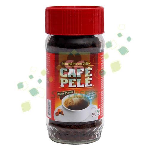 Foto CAFE SOLUBLE 50GR CAFE PELE FRASCO de