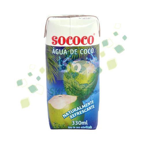 Foto AGUA DE COCO 330ML SOCOCO TETRA de