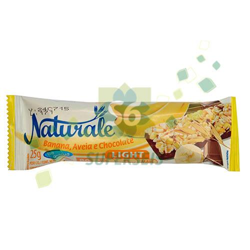 Foto BARRA CEREAL LIGHT BANANA/AVENA Y CHOCOLATE 25 GR. NATURALE DISPLAY de