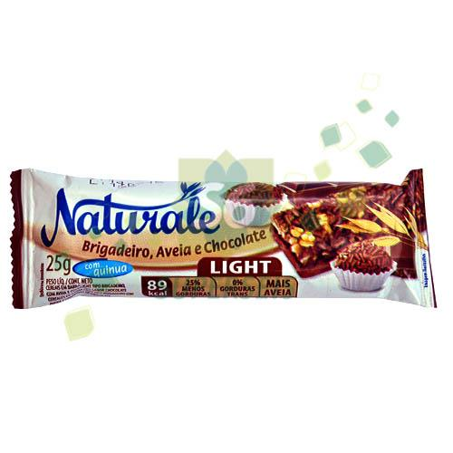 Foto BARRA CEREAL LIGHT BRIGADEIRO/AVENA Y CHOCOLATE 25 GR. NATURALE DISPLAY de