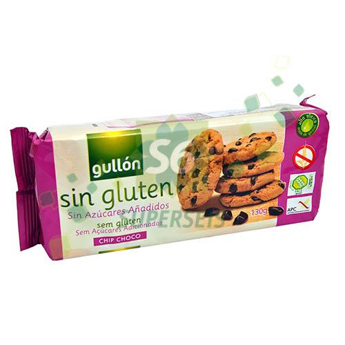 Foto GALLETITA CHIP CON CHOCOLATE 20X130GR SIN GLUTEN GULLON BSA de