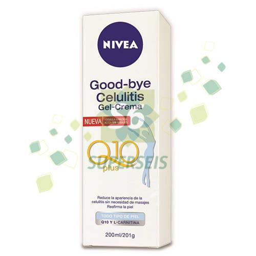 Foto CREMA NIVEA BODY GOOD BYE CELULITIS X 200 ML de