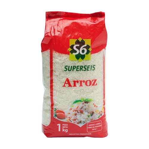 "Foto ARROZ ""SUPERSEIS"" TIPO 1 GLASE 1KG de"