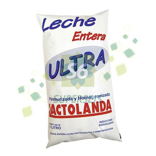 Foto LECHE ENTERA LACTOLANDA ULTRA 1 LITRO SACHET de