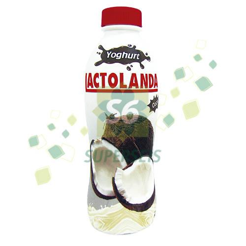 Foto YOGURT LACTOLANDA BEBIBLE ENTERO COCO BOTELLA 900 GR de