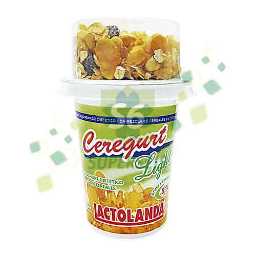 Foto YOGURT LACTOLANDA CEREGURT LIGHT POTE 140 GR de
