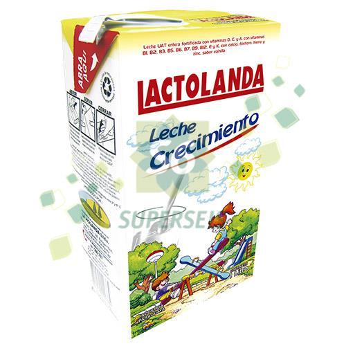 Foto LECHE CRECIMIENTO LACTOLANDA 1 LITRO TETRA de