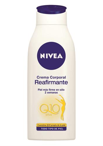 Foto CREMA REAFIRMANTE NIVEA BODY Q10 PLUS FRASCO 400ML de